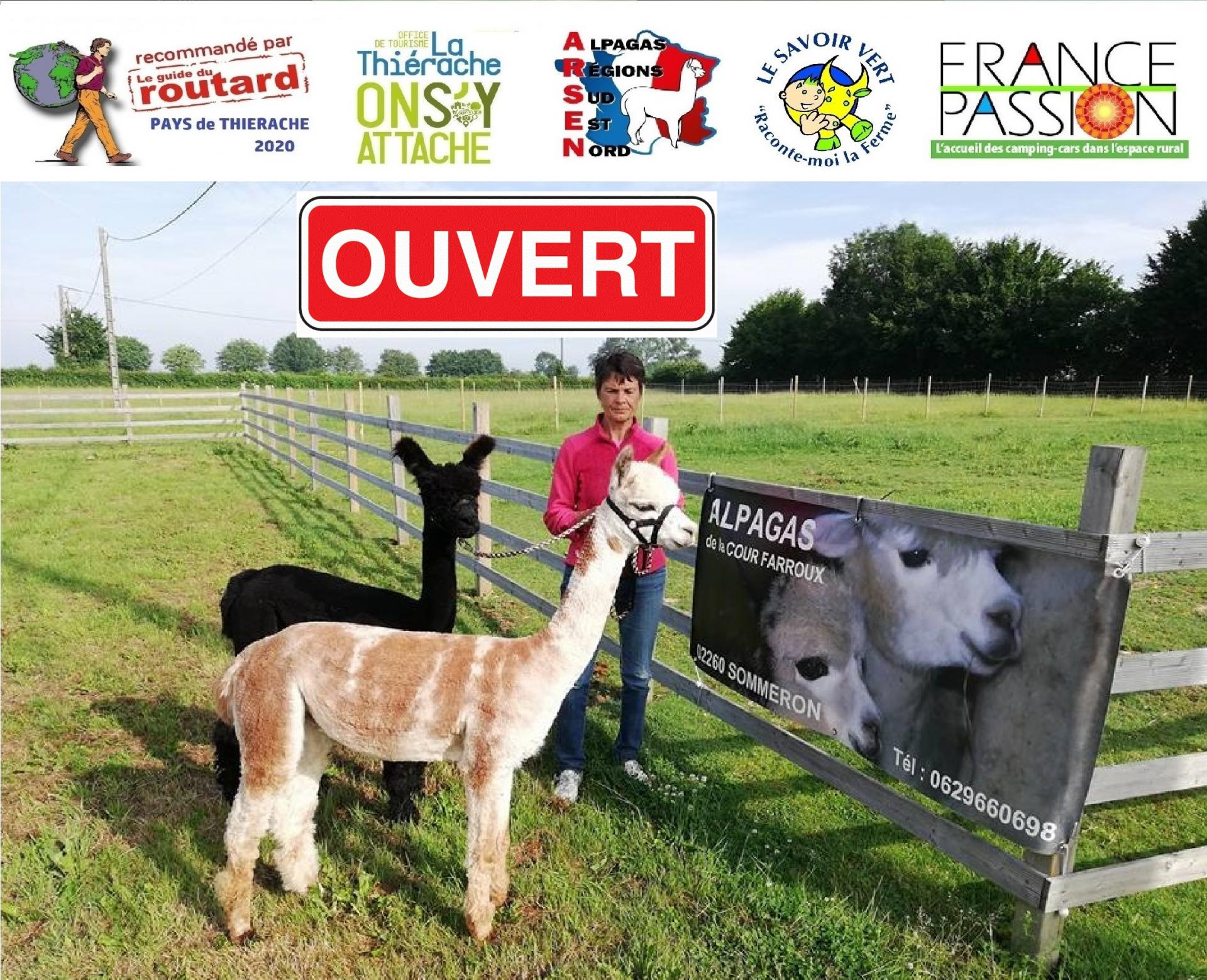 Elevage 2020 logos affiche ouvert