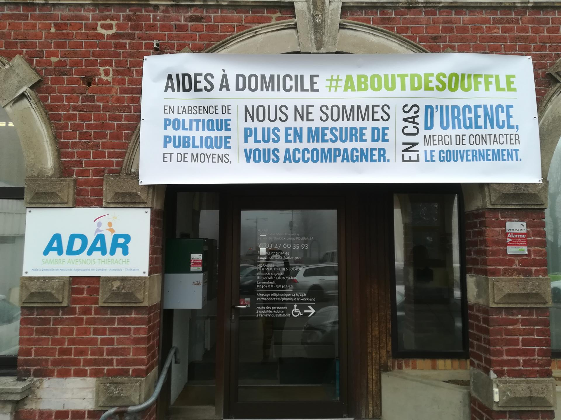L'adar affiche son mécontentement